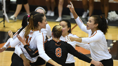 Texas Picked as Preseason Big 12 Volleyball Favorite