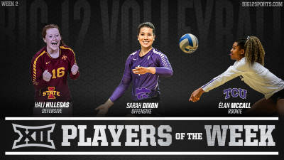 Double-Digit Performances Lead to Volleyball Awards