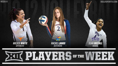 Two Freshmen Among Weekly Award Winners