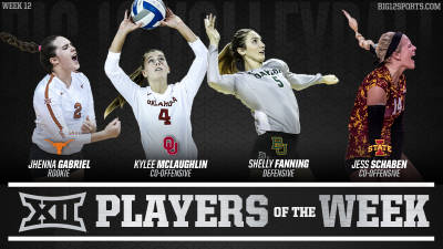 Four Named Weekly Award Recipients