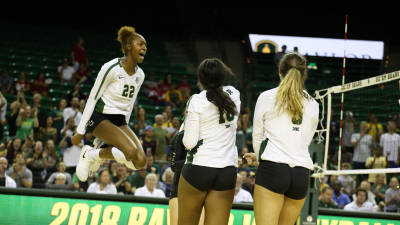 Big 12 Volleyball Named to AVCA Preseason Poll